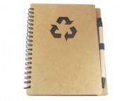 Porta bloco ecológico personalizado com caneta