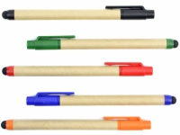 Caneta ecológica com função tablet em diversas cores
