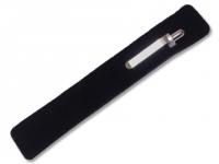Capinha de veludo para 1 caneta personalizada