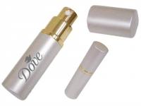 Porta Perfume de aluminio, 10 ml