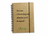 Caderneta Personalizada com Elástico 10x14 - Confira aqui o melhor preço! | A7 Brindes