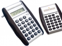 Calculadora promocional com Flip automático