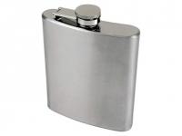 Cantil promocional portátil de aço Inox, capacidade: 200ml