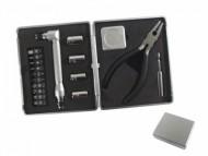 Kit ferramenta Personalizado com 14 opções de pontas, trena, alicate e alongador. - Confira aqui o melhor preço! | A7 Brindes