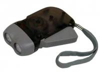 Lanterna personalizada com recarregador manual de energia
