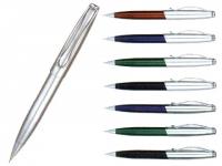 Lapiseira para brindes metalizada em diversas cores