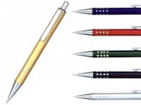 Lapiseira promocional metalizada em diversas cores