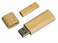 Pen drive para brindes de madeira Capacidade: 4GB