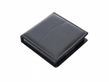 Porta Bloco promocional para anotação em couro ecológico