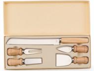 Kit para queijo personalizado com 5 peças