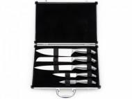 Conjunto de facas personalizadas de metal com maleta