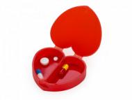 Porta Comprimido de Coração para Brindes - Confira aqui o melhor preço! | A7 Brindes