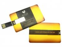 Pen card para brindes Capacidade: 4GB
