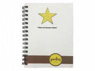 Caderno Personalizado Capa Dura 14x20cm Ecológico - Confira aqui o melhor preço! | A7 Brindes