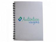 Caderno Personalizado Capa Dura 18x25cm Ecológico - Confira aqui o melhor preço! | A7 Brindes