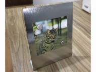 Porta retrato personalizado em metal Acompanha: 2 imãs. Para foto: 7 x 9 cm