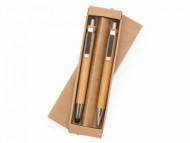 Kit Ecológico Personalizado com Caneta e Lapiseira Bambu - Confira aqui o melhor preço! | A7 Brindes