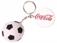 Chaveiro anti stress formato bola de futebol