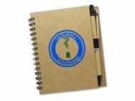 Caderneta Personalizada com Caneta e 60 folhas - Confira aqui o melhor preço! | A7 Brindes