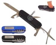 Canivete personalizado com bússola