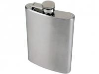 Cantil promocional portátil de aço Inox Capacidade: 250ml
