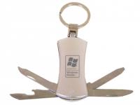 Chaveiro/canivete para brindes com 4 funções
