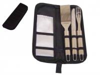 Kit churrasco promocional com 5 peças