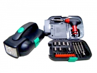Kit ferramenta para brindes Profissional com lanterna portátil