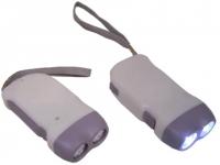 Lanterna promocional com carregador manual