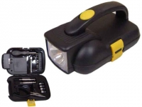 Lanterna promocional com kit ferramentas