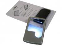 Lupa personalizada de metal  com luz