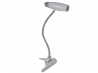 Mini luminária promocional aste flexível para leitura