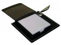 Porta caneta personalizado com bloco de anotações