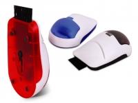 Porta cartão personalizado com porta clips e limpador de teclado