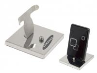 Porta celular personalizado em inox