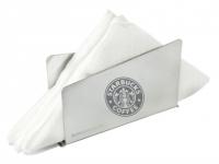 Porta guardanapos personalizado em inox