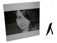 Porta retrato promocional de Alumínio Tamanho da foto: 10x15 cm.