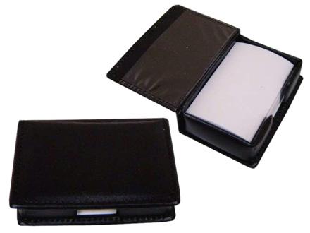 Porta Bloco promocional para anotações em couro ecológico