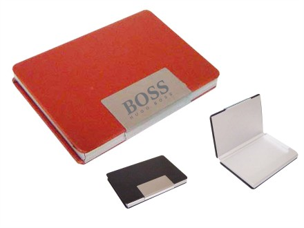 Porta cartão para brindes de metal